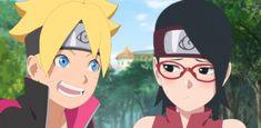 Boruto And Sarada, Naruto And Sasuke, Sasunaru, Hinata, Leh, Fanart, Kawaii, Team 7, Sakura Haruno