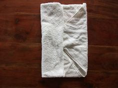 Jo fold for a flat nappy