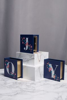 Keep those knick-knacks and charms safe! With individual lettering, the navy letter box has a Polynesian charm with flower prints embellishing each letter. A magnetic fastening keeps your trinkets safe while a felt inside protects them. This is a beautiful gift, or simply a treat for yourself! Choose A for Alice, S for Susie and beyond - the alphabet is yours.<p></p><li> Turquoise trinket letter box </li><li> Choose your letter! </li><li&g...