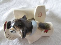 Bulldog Salt and Pepper Shakers  Wiener Dog  by mimishomefashions