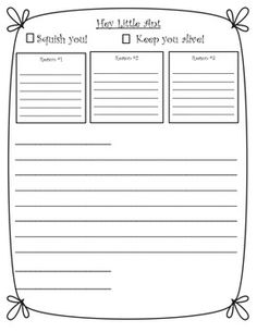 I used this with 2nd graders for opinion writing but it can be used for 1st or 3rd graders. I love the book Hey, Little Ant and the kids love this activity. Enjoy!  Hey, Little Ant Writing  by Jamila James is licensed under a Creative Commons Attribution 3.0 Unported License.