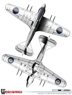Hawker Hurricane, British Armed Forces, Ww2 Aircraft, Royal Navy, Airplanes, Wwii, Military, Illustration, World War Two