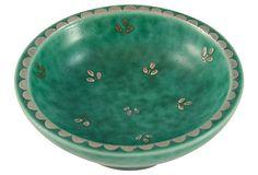 1940s Gustavsberg Trinket Bowl on OneKingsLane.com