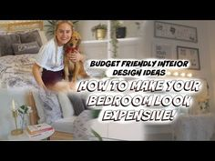 This video is all about how to decorate your bedroom on a budget! Yes you can make your bedroom look homely and expensive while still staying within your budget! Click the link to find out more! How To Find Out, How To Make, Budgeting, Channel, Make It Yourself, Interior Design, Bedroom, Youtube, Design Ideas