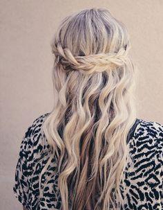 Coiffure cheveux ondulés automne-hiver 2016