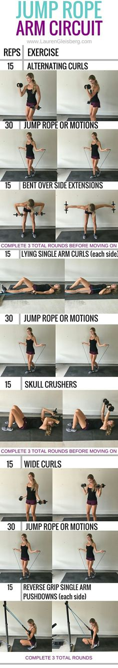 Jump rope circuit  | Posted By: AdvancedWeightLossTips.com