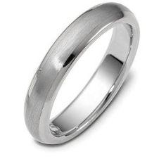 Tiffany Platinum Comfort Fit Wedding Band Ring