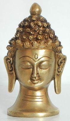 Face of Buddha (Brass)