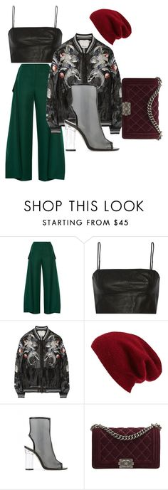 """""""Slay 🔥"""" by triceyfashion on Polyvore featuring Marni, T By Alexander Wang, 3.1 Phillip Lim, Halogen, Public Desire and Chanel"""