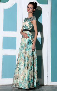 Green chiffon lace hot sale elegant  evening dress http://haolifashion.en.alibaba.com/