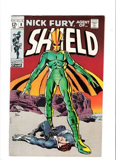 NICK FURY AGENT OF SHIELD #8 Grade 9.0 Silver Age find from Marvel! http://r.ebay.com/sByxzm