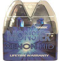 Cheap EuroDezigns H7 Monster Blue Headlights - Low Beam 10000k Xenon-Krypton HID…