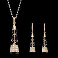 Black Jewelry Set  #italinarigant