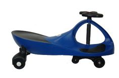 Amazon.com: True Blue Rolling Coaster the Wiggling Wiggle Race Car Premium Scooter: Toys & Games