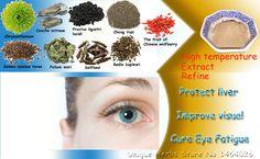 ナチュラルハーブ成分に改善視力、目の疲れを軽減、防ぐ短期見通しと肝臓を保護機能
