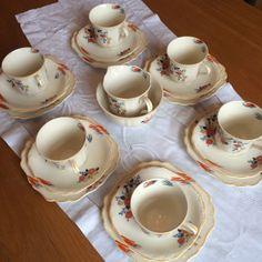 Modern Design 18 Pieces Alfred Meakin Tea Set