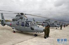 12 helicópteros de transporte Harbin Z-9