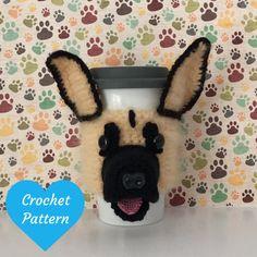 Crochet Pattern Dog - Dog Crochet Pattern - Amigurumi German Shepherd - Amigurumi Dog Pattern - Crochet Pattern - Crochet German Shepherd by HookedbyAngel