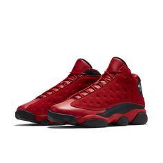 0256e0592ce12f Nike Air Jordan 13 Retro SNGL DY - Fitness Red Black