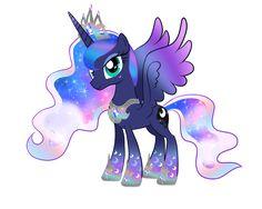 Princess Luna Rainbow Power by Moonlightprincess002.deviantart.com on @DeviantArt