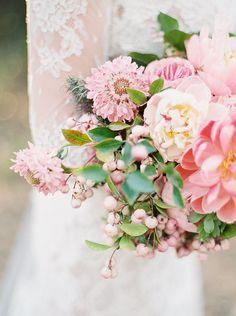 Pink peony summer bouquet recipe (100 Layer Cake)