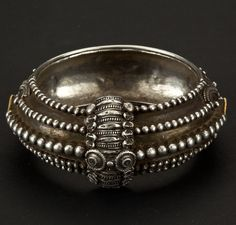 India | Silver bracelet from Tamil Nadu | ca. 1st half of the 20th century |
