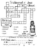Atonement crossword puzzle