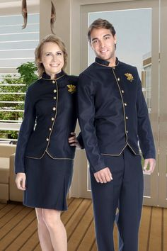 Waiter Uniform, Men In Uniform, School Uniform, Corporate Outfits, Corporate Wear, Hotel Uniform, Staff Uniforms, Hotel Staff, Uniform Design