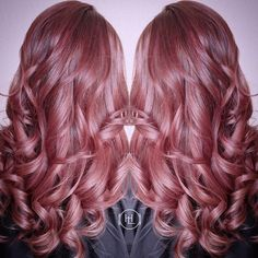 Dark smokey rosey pink =)