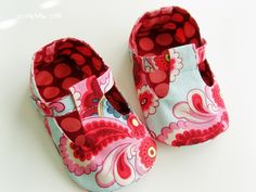 no 41 Jordan Baby T-Strap Shoes PDF Pattern
