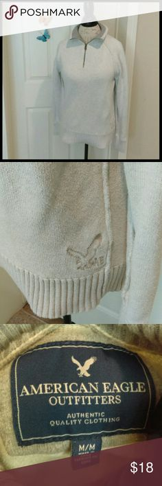 ❤️AEO pullover sweater EUC. Simply gorgeous sweater that is so soft and warm! Has the AEO Eagle on the bottom edge of the sweater. You will love this sweater! From a smoke and pet free home. Very fast shipping.  *No trades  *All offers considered  *I take offers on bundles American Eagle Outfitters Sweaters
