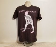 Butch Walker and The Let's Go Out Tonites Womens Medium Gray T-Shirt #Tultex #GraphicTee