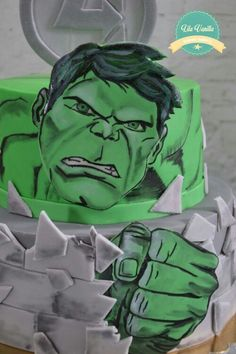 Hulk cake avengers Lila Vanilla