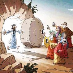 Auguri di Pasqua social.