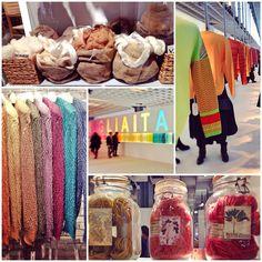 #AlphaStudio moves to #PittiFilati76   #florence #color #quality #knitwear #knit #gauge #yarn #stitch #style #tricot #wool #cashmere #fashion #fashionfair #fashionshow #fashiontrade #instagood #instafashion