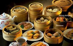 Dim Sum actually is a collection of small bites of Chinese desserts with…