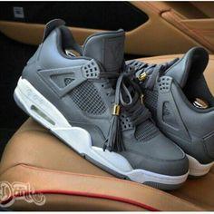 All Grey Jordan's Custom Made Louis Vuitton