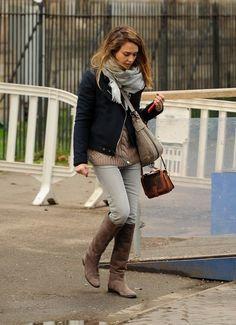 Jessica Alba Clothes, casual