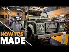 Land Rover Defender HOW IT'S MADE - Car Factory Assembly Line Production Manufacturing - YouTube