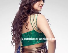 Satya Paul Saree Blouse designs~Latest Blouse Designs~South India Fashion