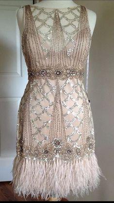 Vestido Charleston, Pretty Dresses, Beautiful Dresses, Vintage Outfits, Vintage Fashion, 1920s Fashion Dresses, 1920s Party Dresses, Roaring 20s Dresses, Roaring Twenties
