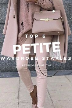 Elevate your petite style with this 6 must have wardrobe staples to look taller and thinner Check out for petite clothing from independent designers Style Outfits, Petite Outfits, Petite Dresses, Mode Outfits, Fall Outfits, Petite Clothes, Petite Fashion Tips, Fashion For Petite Women, Fashion Advice