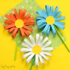 Easy Paper Crafts For Adults – Jaredkizer.me easy paper crafts for adults – jaredkizerme easy paper craft work - Paper Crafts Kids Crafts, Flower Crafts Kids, Bunny Crafts, Preschool Crafts, Easter Crafts, Holiday Crafts, Craft Projects, Craft Flowers, Craft Ideas