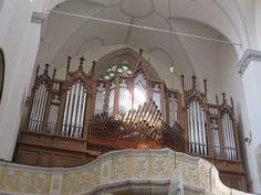Litomyšl, unikátní varhany, Kostel Nalezeni sv.Krize
