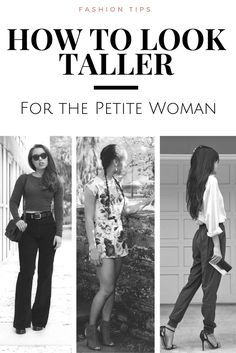 How to Look Taller: Tips for the Petite Woman - LivingLesh