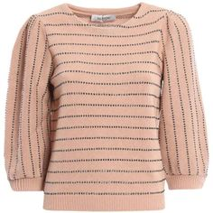 Valentino Sweaters (€803) ❤ liked on Polyvore featuring tops, sweaters, red knit top, knit sweater, valentino sweaters, red knit sweater and knit top