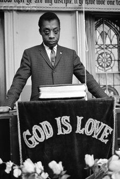 James Baldwin, God is Love, New York, Photo Credit Steve Schapiro. James Baldwin, Young John, Audre Lorde, Black Church, Go To Movies, Black History Facts, First Novel, Library Of Congress, Writers