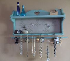 Hey, I found this really awesome Etsy listing at https://www.etsy.com/ca/listing/228072936/cottage-styleup-cycled-jewelry-display