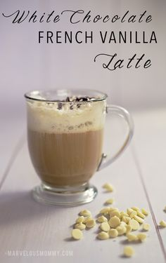White Chocolate French Vanilla Latte #Recipe #JustBrewIt PLUS a Keurig K65 Special Edition Giveaway!
