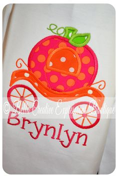 Hey, I found this really awesome Etsy listing at http://www.etsy.com/listing/107786757/pumpkin-princess-carriage-applique